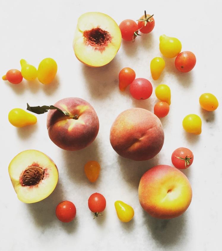 peach tomato