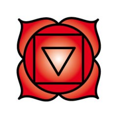 1st chakra symbol